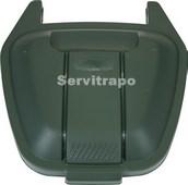 Tapa per a contenidor mòbil 110L (verd - VIDRE)