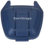 Tapa per a contenidor mòbil 110L (blau - PAPER)