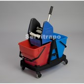Carro+2cubos 18L+Escurridor (SANI DUO)