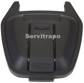 Tapa per a contenidor mòbil 110L (negra - PERILLOSOS)