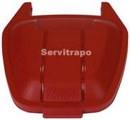 Tapa per a contenidor mòbil 110L (vermella - ESPECIALS)