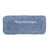Mopa plana con componentes antimicrobios para desinfectar (40 x 10 cm)
