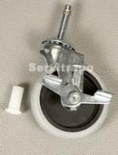 Kit de 2 ruedas giratorias con Freno para carros 9T y X-tra