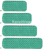 HYGEN - Mopa seca de microfibra, 90 cm – Verde