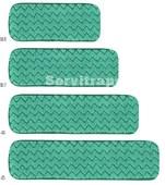 HYGEN - Mopa seca de microfibra, 40 cm – Verde