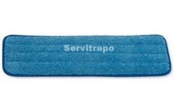 HYGEN - Mopa húmeda de microfibra, 40 cm - Azul con tiras s/código de colores 46,0 x 14,5 x 1,6 10