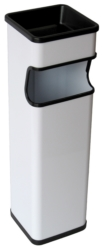 Cendrer paperera rectangular PINTADA 20 L.