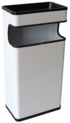Cendrer paperera rectangular PINTADA 40 L.