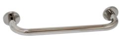 Toallero de BARRA CURVO inox brillo 30 cm