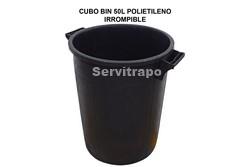 CUBO RECICLAJE BIN 50L ENGOMADO IRROMPIBLE SIN TAPA