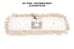 SET BASTIDOR + MOPA ALGODÓN 60 CM