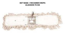 SET BASTIDOR + MOPA ALGODÓN 75 CM