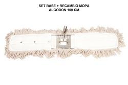 SET BASTIDOR + MOPA ALGODÓN 100 CM