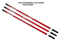 PALO EXTENSIBLE METALICO 2 MT
