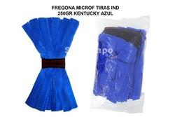 FREGONA MICROFIBRA TIRAS INDUSTRIAL KENTUCKY AZUL 250GR