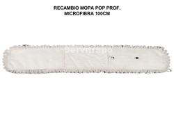 RECAMBIO MOPA MICROFIBRA 100 CM POP PROFESIONAL
