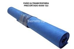 ROLLO PAÑO ULTRAMICROFIBRA TNT PRECORTADO 12U (ESPECIAL CRISTAL)