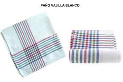 PAÑO VAJILLA ALGODÓN BLANCO PACK-12