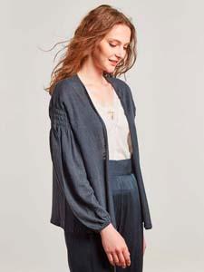 Linen knit Jacket