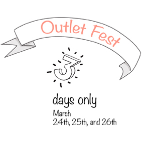 OUTLET FEST SS16