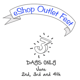 Arriba el 3er eShop Outlet Fest!