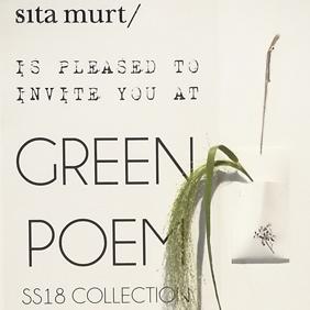 sales meeting Green Poem SS18