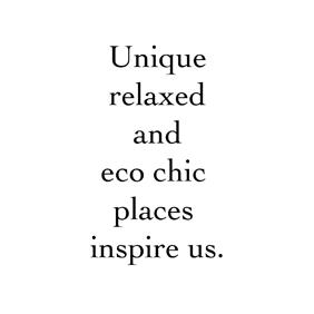 Inspiring places: Alentejo