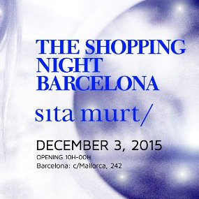 Sita Murt at The Shopping Night Barcelona