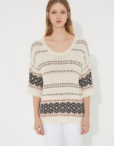 Fantasy knit sweater