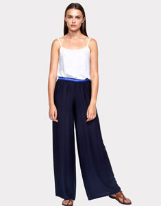 Viscose loose pants