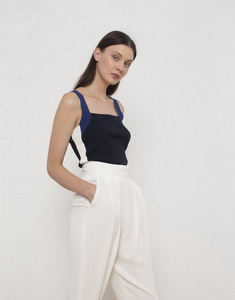 Tricolour Sporty Chic Top