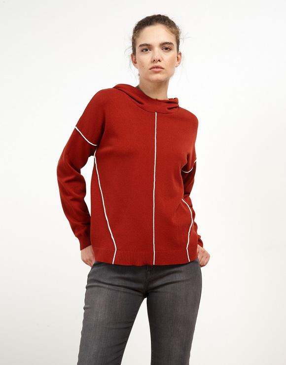 Viscose-Lycra Sweater