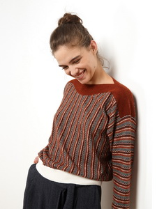 Sweater In Jacquard Yarn