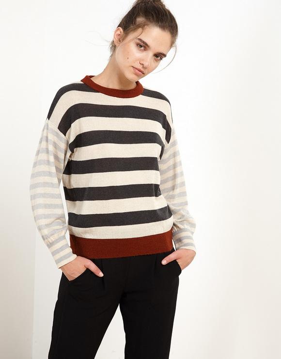 Graphic Asymmetries Sweater