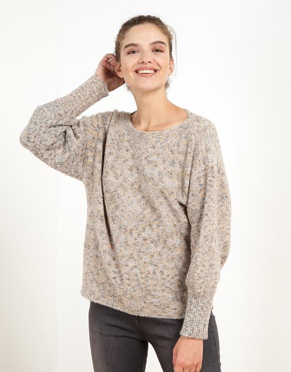 Multicolour Wide Sweater
