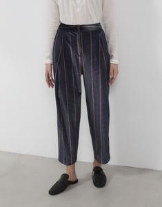 Velvet Print Pants