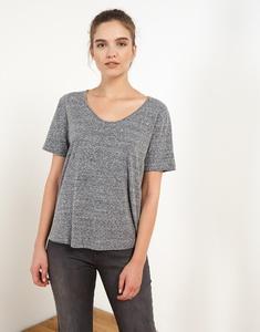 Mélange Effect T-Shirt
