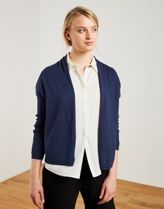 Ribbed sleeves jacket