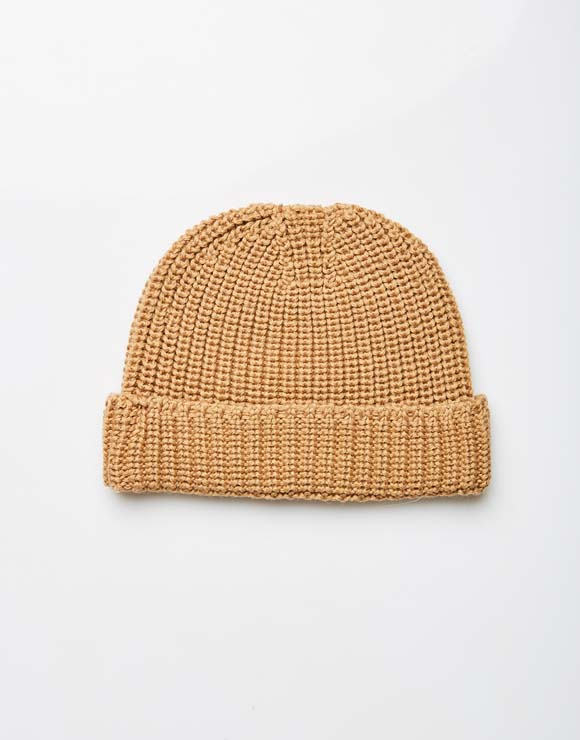 Knitted structured hat