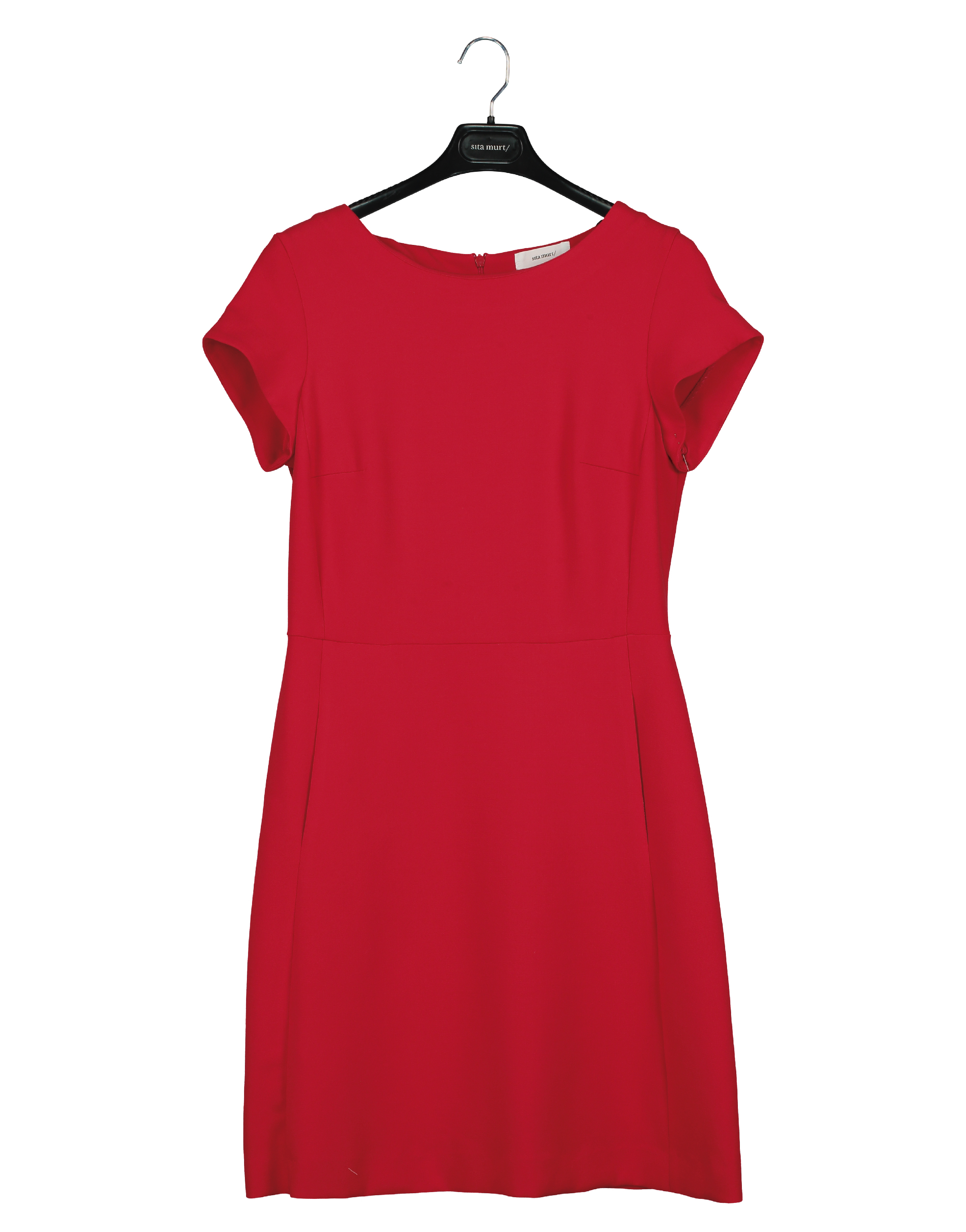 Short dress with pockets
