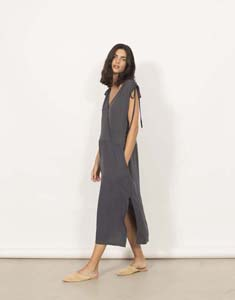 Vestido Midi de Tejido y punto