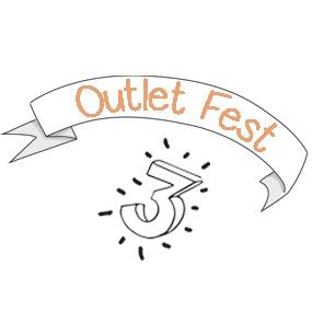 ¡Llega el tercer OUTLET FEST!
