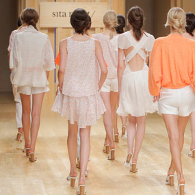 Sita Murt presents her new collection Bloom in the 080 Barcelona Fashion Show