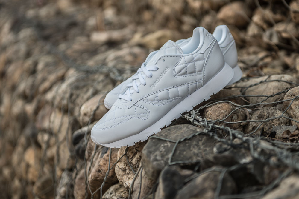 REEBOK CL LTHR QUILTED