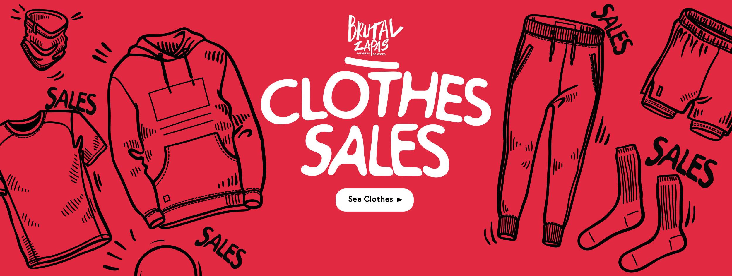CLOTHES SALES