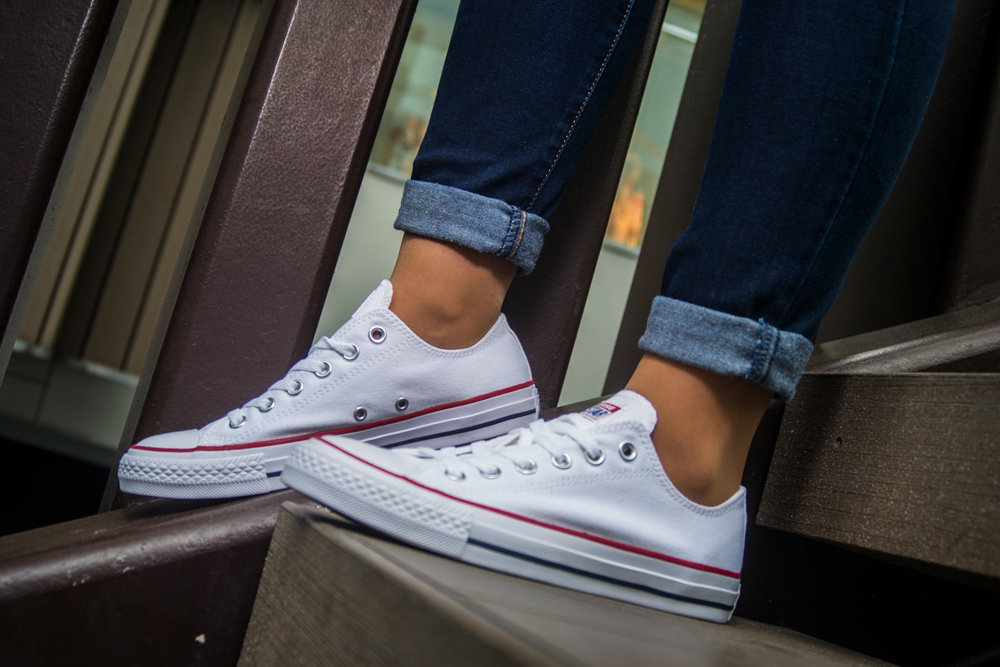 CONVERSE ALL STAR OX WHITE