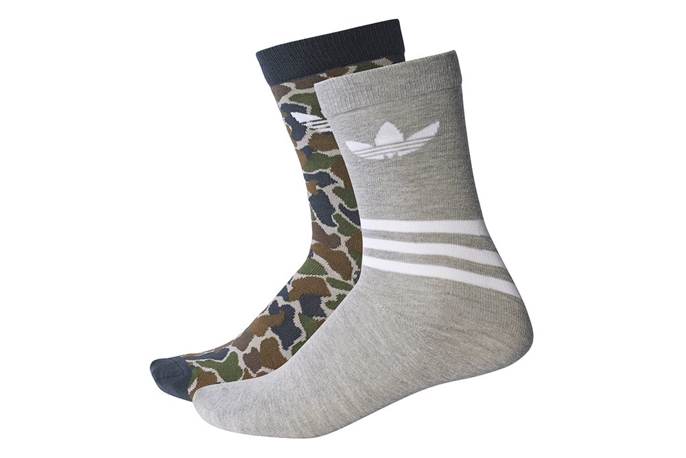 meias adidas t crew sock aop BQ5964