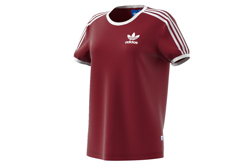shirt adidas 3stripes tee bp 9507