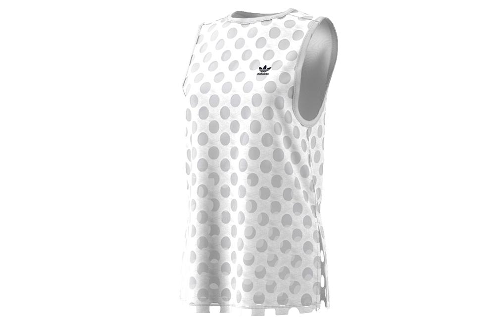 sneakers adidas camiseta tank top BK6030