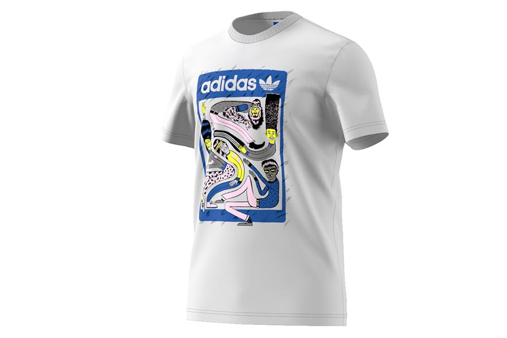 zapatillas adidas camiseta artist london BQ3066